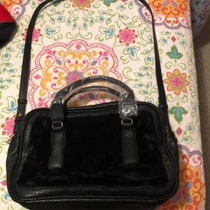 Kensie black shoulder bag